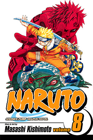 Naruto, Vol. 8: Life-And-Death Battles (Naruto Graphic Novel)