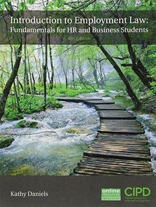Introduction to Employment Law : Fundamentals for HR and Business Students