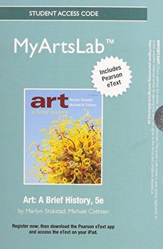 Art: A Brief History [Access Code + MyArtsLab Access Code]