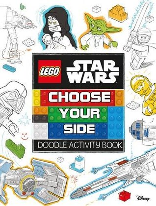 Lego Star Wars: Choose Your Side Doodle Activity Book