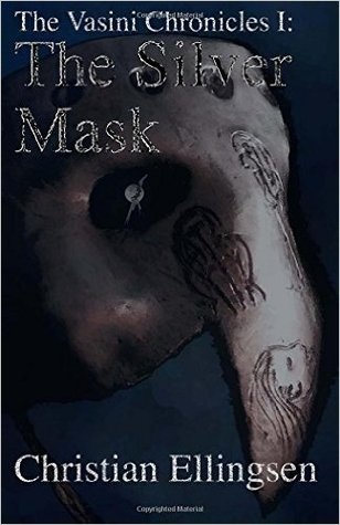 book cover for The Silver Mask