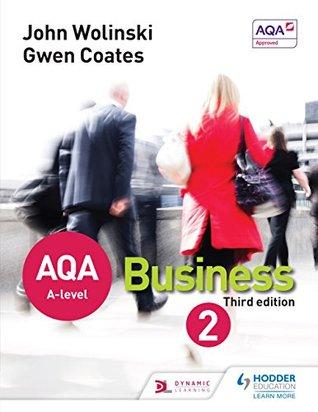 AQA A Level Business 2 Third Edition