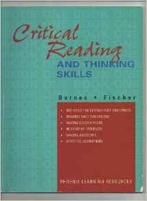 Critical Reading and Thinking Skills