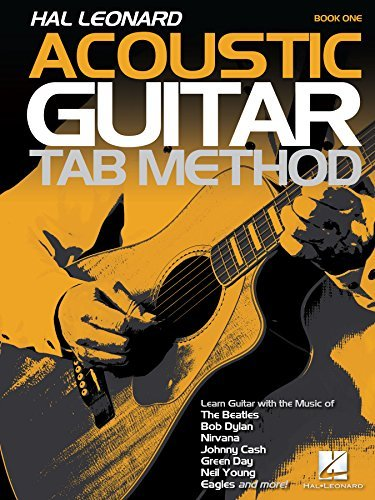 Hal Leonard Acoustic Guitar Tab Method - Book 1: Book Only