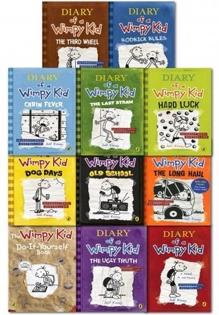 Diary of a wimpy kid collection 11 books set pack by jeff kinney rrp diary of a wimpy kid collection 11 books set pack by jeff kinney rrp 9097 by jeff kinney solutioingenieria Gallery