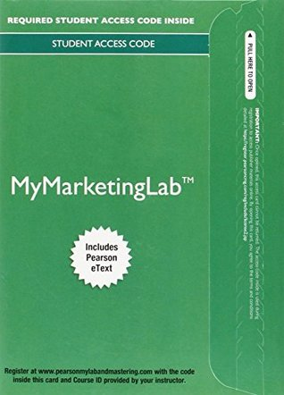 MyMarketingLab with Pearson eText - Instant Access - for Principles of Marketing