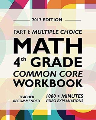 Common Core Math Workbook, Grade 4: Multiple Choice, Everyday ...