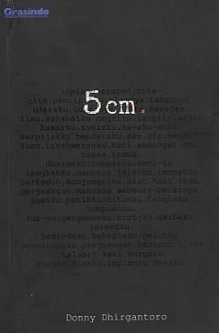 5 cm by Donny Dhirgantoro