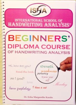 Beginners' Diploma Course of Handwriting Analysis