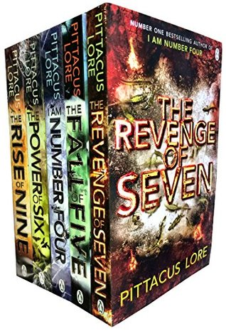 I am Number Four Collection Books 1-5: 'I Am Number Four / The Power of Six / The Rise of Nine / The Fall of Five / The Revenge of Seven