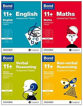 Bond 11+: English, Maths, Non-verbal Reasoning, Verbal Reasoning: Assessment Papers: 7-8 years Bundle