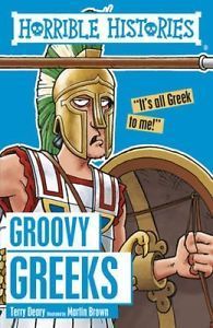 Book Cover: Groovy Greeks (Horrible Histories)