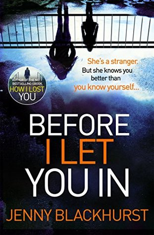 Image result for before i let you in jenny blackhurst