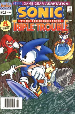 Sonic The Hedgehog Triple Trouble (Sonic Special #3)