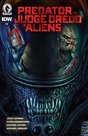 Predator vs. Judge Dredd vs. Aliens #2