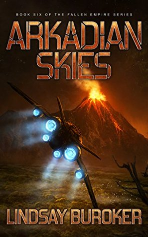 Arkadian Skies (Fallen Empire, #6)