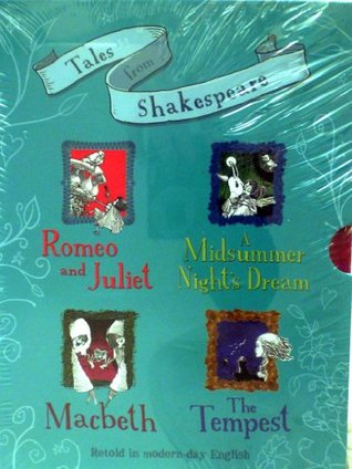 Tales from Shakespeare retold in modern-day English Four Book Gift Box Set
