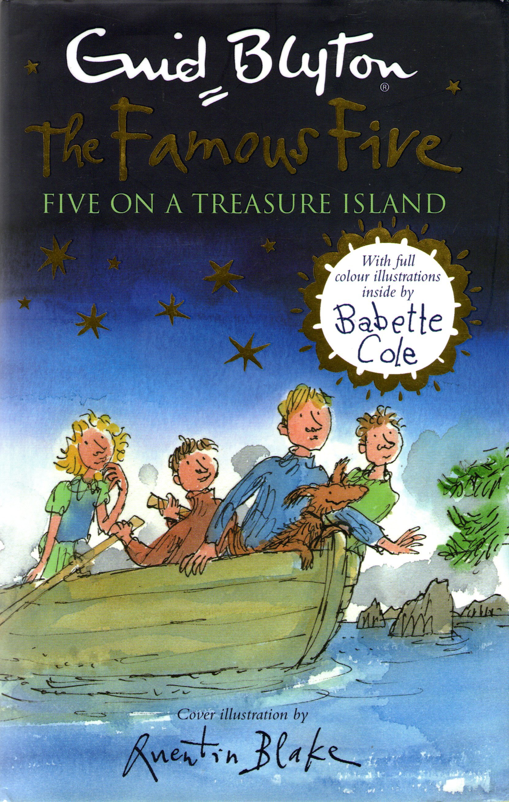 Five on a Treasure Island (Famous Five, #1)