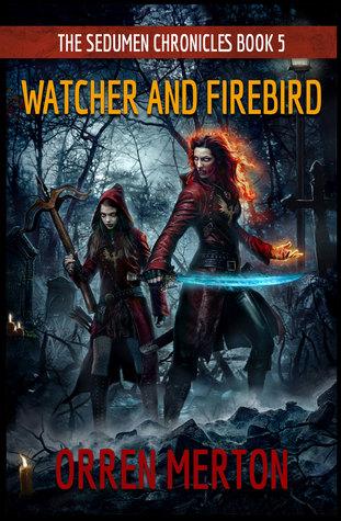 Watcher and Firebird by Orren Merton