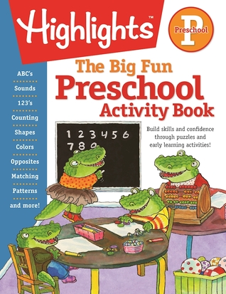 The Big Fun Preschool Activity Book