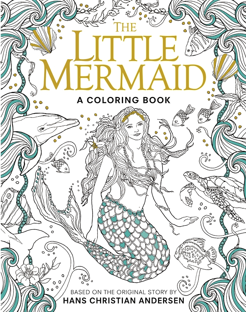 The Little Mermaid: A Coloring Book