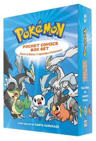 Pokemon Pocket Comics Box Set: Black White / Legendary Pokemon