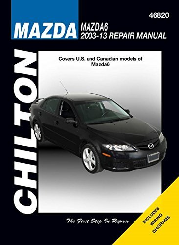 Mazda 6 Service and Repair Manual 2003-13
