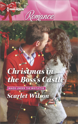 Christmas in the Boss's Castle (Maids Under the Mistletoe #3)