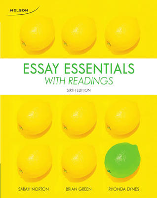 Essay essentials with readings 5th edition pdf
