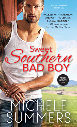 #ReleaseBlast #Spotlight SOUTHERN SWEET BAD BOY (Harmony Homecomings #3) @michele_summers @TastyBookTours @sourcebookscasa #Giveaway