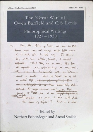 owen barfield lewiss philosopher In a letter to his good friend owen barfield, dated june 2, 1940, lewis invokes julian of norwich as lewis says it, reconciling greek philosophy to the heartbeat.