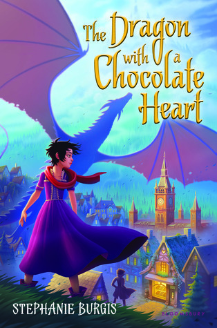 The Dragon with a Chocolate Heart (Stephanie Burgis)
