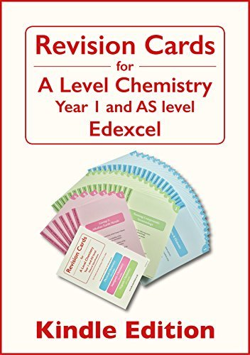 Revision Cards for A-Level Chemistry: Edexcel, Year 1 & AS