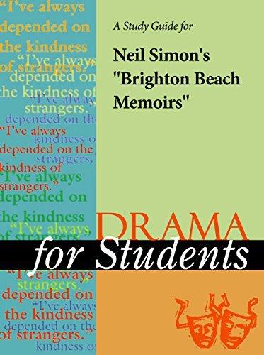 """A Study Guide for Neil Simon's """"Brighton Beach Memoirs"""""""