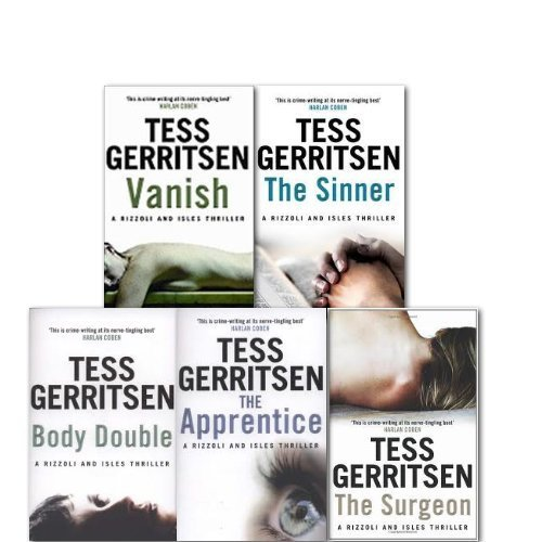 A Rizzoli and Isles Series Collection 5 Books Set By Tess Gerritsen