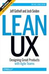 Book cover for Lean UX: Designing Great Products with Agile Teams