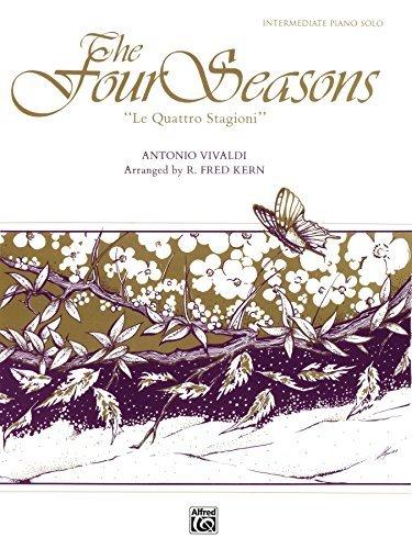 """The Four Seasons (""""Le Quattro Stagioni""""): Intermediate Piano Solo"""