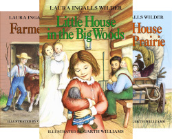 Little House in the Big Woods, Farmer Boy, and Little House on the Prairie (Little House #1-3)
