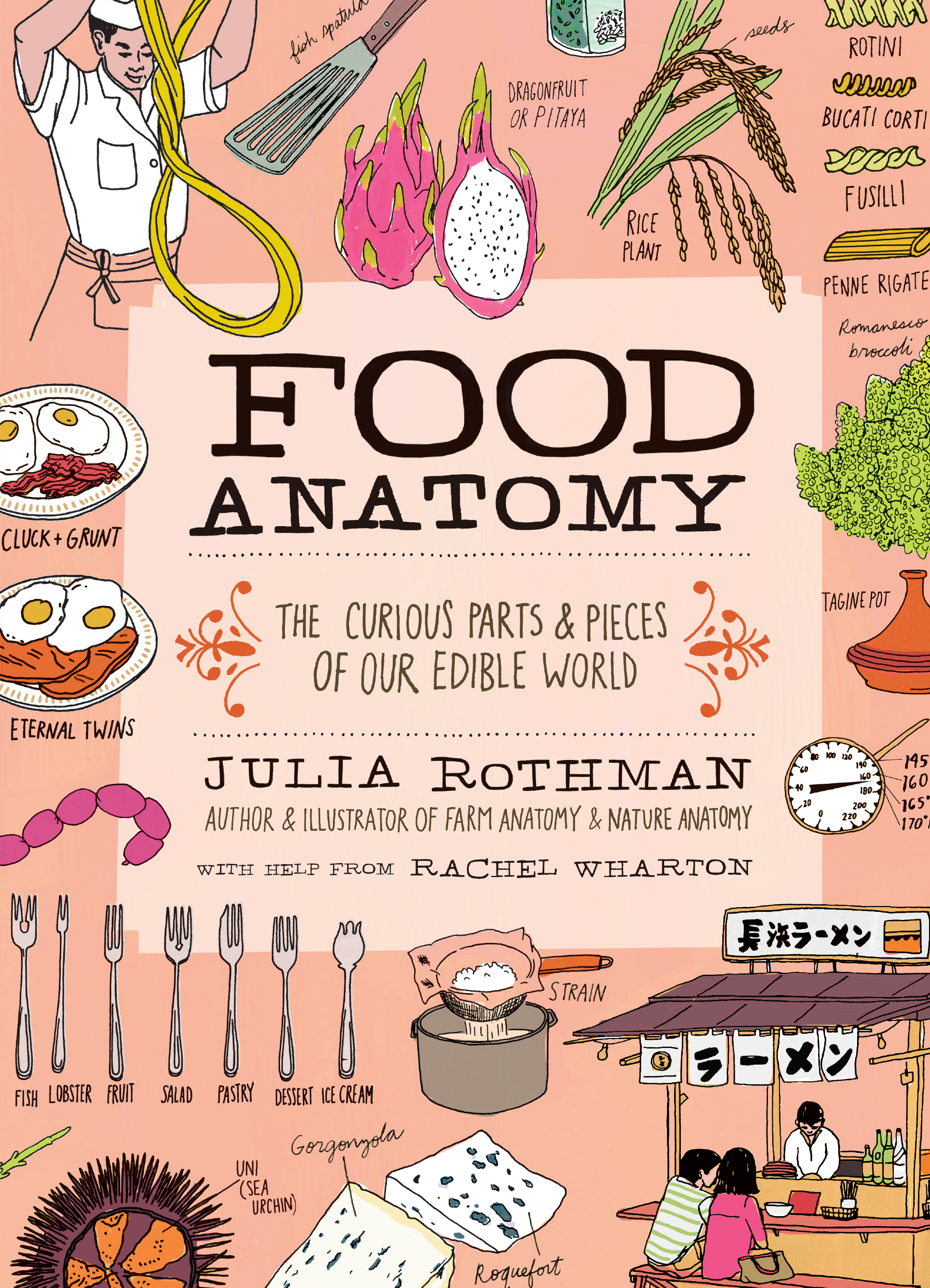 Food Anatomy: The Curious Parts  Pieces of Our Edible World