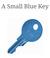 A Small Blue Key