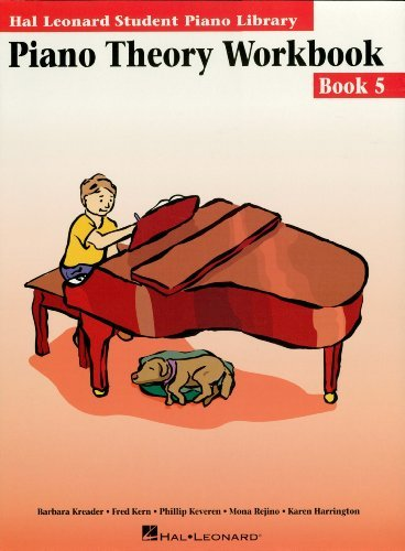 Piano Theory Workbook - Book 5: Hal Leonard Student Piano Library