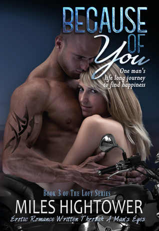 Because of You (The Loft, #3) by Miles Hightower