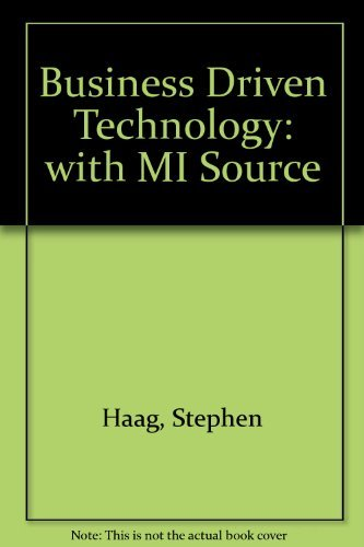 Business Driven Technology: with MI Source