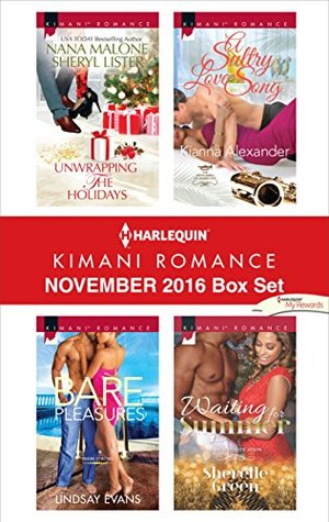 Harlequin Kimani Romance December 2016 Box Set: One Mistletoe Wish / A Chase for Christmas / Kissed by Christmas / A Perfect Caress