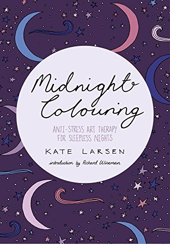 Midnight Colouring: Anti-Stress Art Therapy for Sleepless Nights