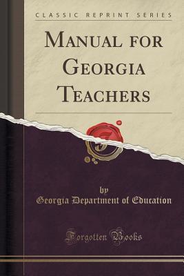 Manual for Georgia Teachers