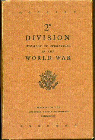 2nd DIVISION Summary of Operations in the World War