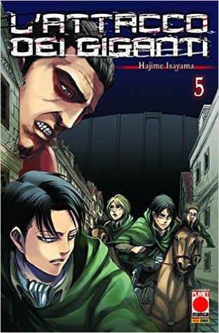 Ebook L'attacco dei giganti n. 5 by Hajime Isayama DOC!