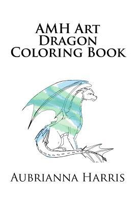 Amh Art Dragon Coloring Book