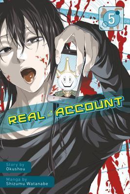 Real Account, Vol. 5 por Okushou, Shimizu Watanabe